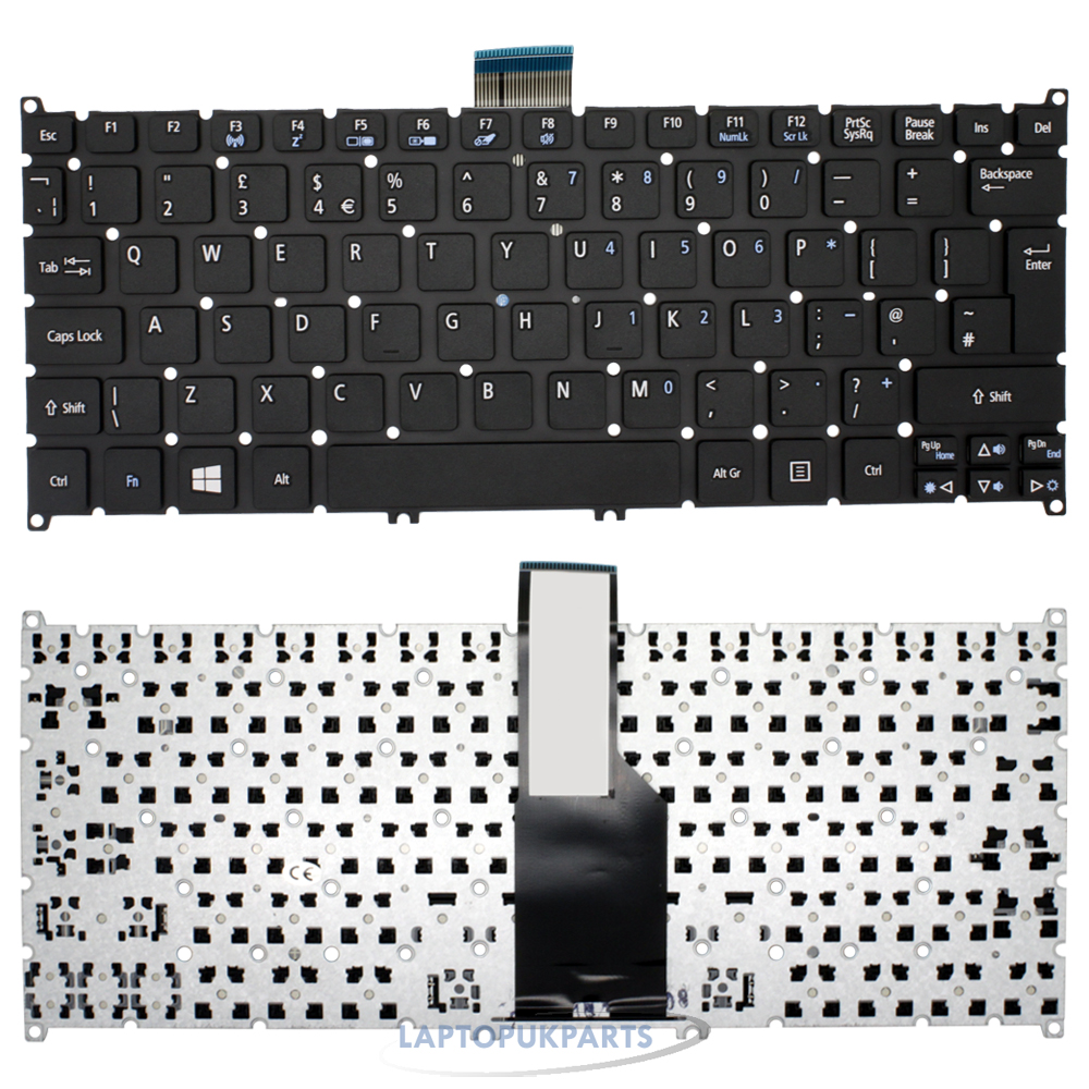 Acer ASPIRE V5 123 3617 Laptop Keyboard Genuine UK Layout