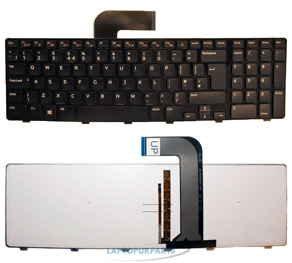 neu dell vostro 3750 laptop tastatur ohne. Black Bedroom Furniture Sets. Home Design Ideas